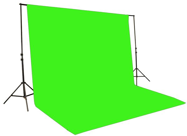 chromakey green screen kit