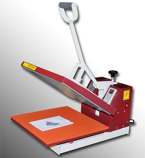 15 X15 Digital High Press Sublimation Clamp Shell T Shirt Heat Press Transfer Screen Printing Machine 15 x 15 RED NEW-695