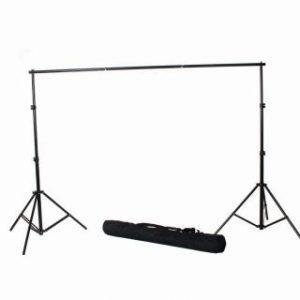 10X24 Photo Video Muslin Chromakey Photography Studio Continuous Light Kit and Stands K15+10x24green-1510