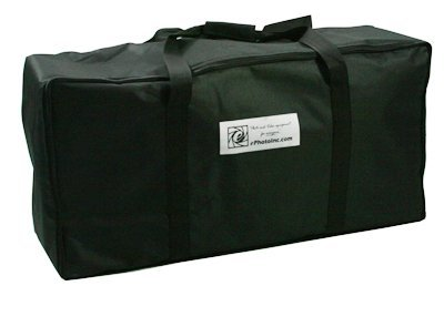 Pro Studio Video 4500W Digital Photography Studio 3 Softbox Lighting Kit Light Set and Carrying Case H9060S3-1433