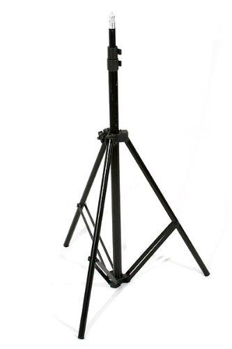 3pcs Chromakey Green, Black, White Muslin Background Backdrop Support Stand & Complete 3200 Watt Video Photography Studio Lighting Kit H604SB2-69BWG-1363
