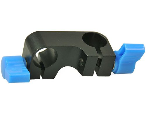 90 Degree 15mm Rod Connector Adaptor for DSLR Shoulder Rig 90Connector-0