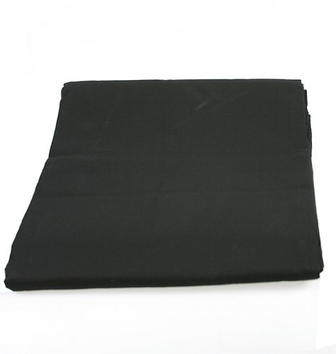 6x9 ft Black Studio Portrait Photography Muslin Backdrop-278