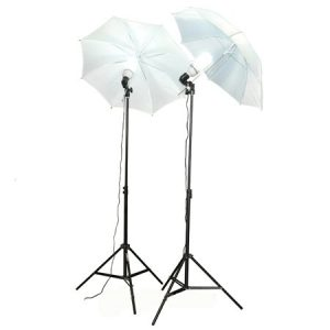 10X24 Photo Video Muslin Chromakey Photography Studio Continuous Light Kit and Stands K15+10x24green-1511
