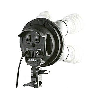 Three Softbox 2700 Watt Photography Video Hair Boom Light Lighting Kit 10x12 Chromakey GREEN Muslin Background Support Stand Case Kit H604SB-1012G-1369