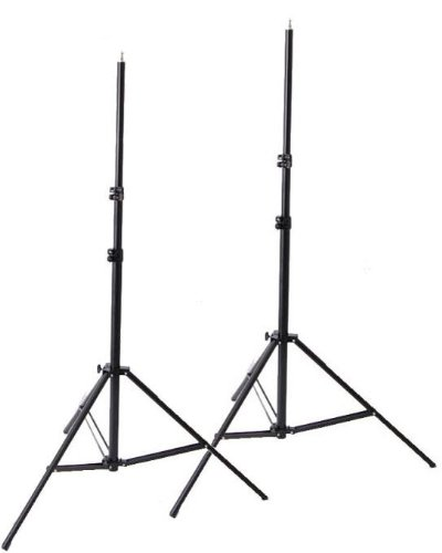 10X24 Photo Video Muslin Chromakey Photography Studio Continuous Light Kit and Stands K15+10x24green-1509