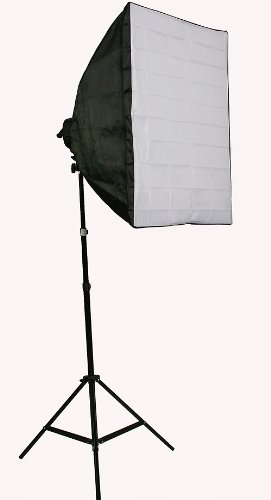 Digital Photography Video Continuous Softbox Lighting Kit Photo Studio CFL Perfect Daylight Light Kit With BOOM STAND Hair LIGHTING KIT CARRY BAG H9060SB-1419