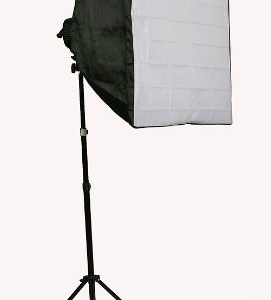 3800 Watt Digital Video Continuous Light 3 Softbox Boom Stand Hair Lighting Kit and Case H9060SB4-1425