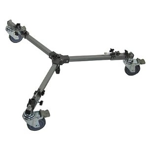 Universal Heavy Duty 150lb Max Video Cinema Film Studio Tripod Dolly-0