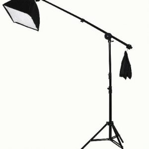 2000 Watt Lighting Kit With Boom Arm Hairlight Softbox Lighting Kit-236