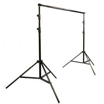 3200 Watt Softbox Photo Video Studio Portrait Lighting with 10x12 CHROMAKEY Muslin Green Screen Backdrop Support Stand Set H604SB2-1012G-1283