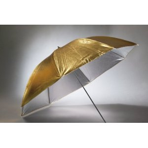 40 Silver Gold Umbrella