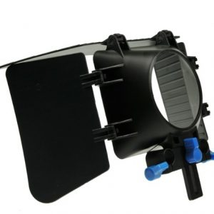 DSLR Matte Box for 15mm Rail Rod Support follow focus System D90 5D 60D 600D MattBOX-1202