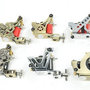6 Gun Tattoo Machine Kit Tattoo Gun Kit By Fancier A02-1035