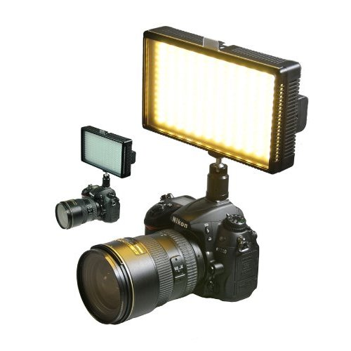 Professional LED Light 312 LED Bi-Color Changing Dimmable LED Video DSLR Camera Light Panel LED312-0