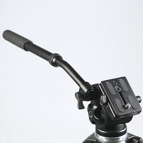 Professional Video Camera Fluid Drag Tripod Head 717AH-803