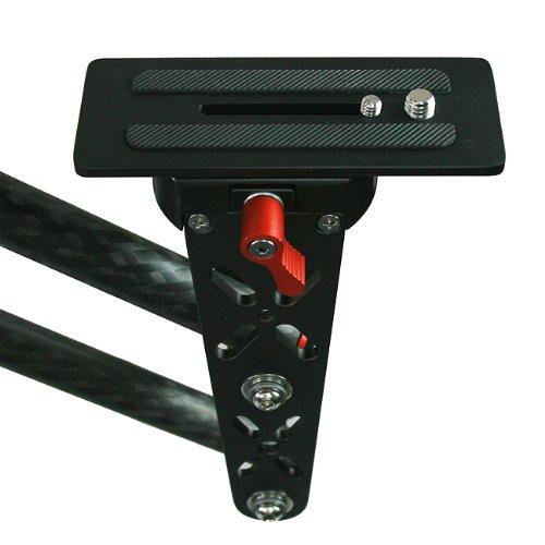 4ft Portable Mini Carbon Fiber Crane Jib Arm Steadicam Camera DSLR Jib Crane EA-500C -1665