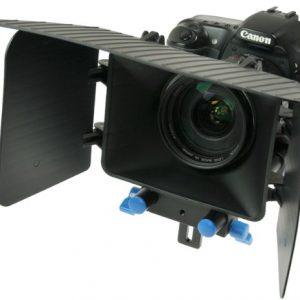 DSLR Matte Box for 15mm Rail Rod Support follow focus System D90 5D 60D 600D MattBOX-0