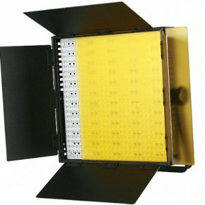 600 LED Color Changing Photography Video Lite Panel BI COLOR LED Video Panel Sony V Mount adapter 110V - 230V -1614