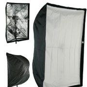 "24"" x 36"" Photography Studio Speedlite Flash Umbrella type Softbox works on Nikcon Canon AlienBees Soft6090-0"