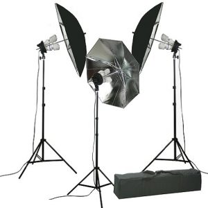 Video Light kit L Umbrealla Softbox Lighting Kit 2400w Portrait Lighting 9004S 3k-0