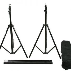 10' X 20' Black Muslin Backdrop Umbrella Softbox Lighting Kit K15 10x20Black-379