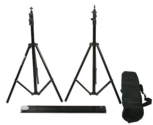 10' X 20' Black Muslin Backdrop Umbrella Softbox Lighting Kit K15 10x20Black-379