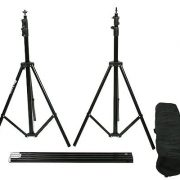 10x12 Black Muslin Video Photography Studio Portrait Backdrop Background Support System UL30 10x12 Black-965