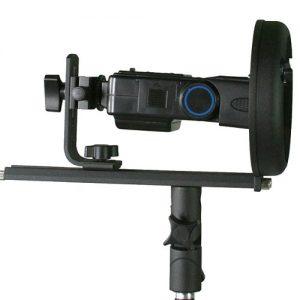 Flash Softbox Beauty Dish T Bracket Umbrella mount Bowen Calument Travelite Adapter for Nikon Canon Portable Flash TBracket-1481