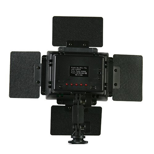 Led Light Panel Rechargable Battery 70 Ultra Bright Camera Video Dv Camcorder Light Lighting Hotshoe Mount Camcorder Video Light - 5600k DV70-895