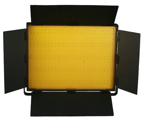 2 x 1200 LED Video Lite Panel Dimmable Photo Studio Video Lighting LED Panels & Stands-1526