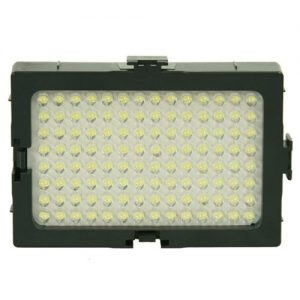 On Camera DV Camcorder DSLR 170 LED Video Photo Lite Panel Lighting with Metal Swivel Hotshoe Adapter CN170-903