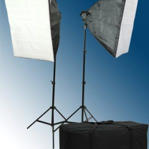 2600 Watt Softbox Lighting Kit Video Light Kit Studio Lighting Kit H9060-416