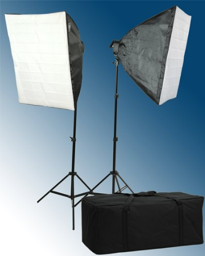 2600 Watt Softbox Lighting Kit Video Light Kit Studio Lighting Kit H9060-0