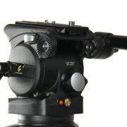 Fancierstudio Professional Video Camera Tripod FC-370 Pro Video Camera Tripod with Fluid Head By Fancierstudio FC-370-299