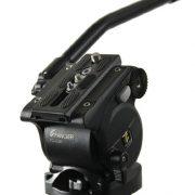 Fancierstudio Professional Video Camera Tripod FC-370 Pro Video Camera Tripod with Fluid Head By Fancierstudio FC-370-301