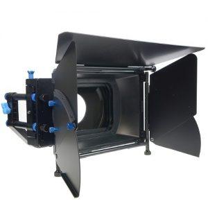 Professional DSLR RIG Shoulder Mount Follow Focus Whips, Crank, Matte Box Support System Kit Rig DSLR RLO3-1100