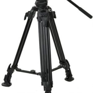 Fancierstudio Professional Video Camera Tripod FC-270 Pro Video Camera Tripod with Fluid Head By Fancierstudio FC-270-189