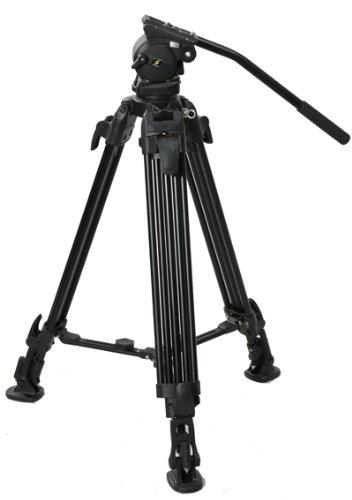 Fancierstudio Professional Video Camera Tripod FC-270 Pro Video Camera Tripod with Fluid Head By Fancierstudio FC-270-189
