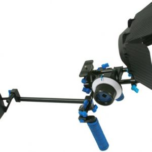 DSLR Rig Chest Camera Stabilizer Mount Follow Focus Matte Box for 5D, 7D, 60D, T2i, T3i, 550D RL002FM-1145