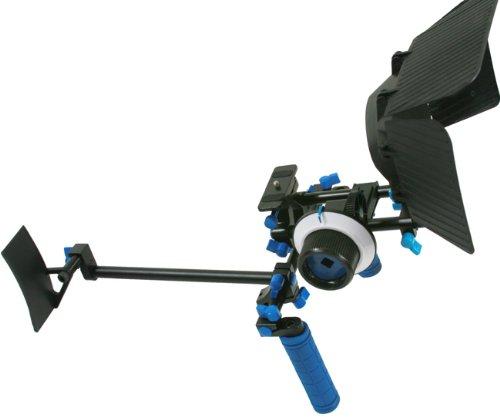 DSLR Rig Chest Camera Stabilizer Mount Follow Focus Matte Box for 5D, 7D, 60D, T2i, T3i, 550D RL002FM-1145