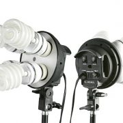 2400 Watt Lighting Kit With Boom Arm Hairlight Softbox Lighting Kit 9004SB2-105