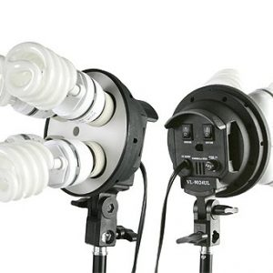 2400 Watt Lighting Kit With Boom Arm Hairlight Softbox Lighting Kit 9004SB2-105