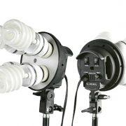 2400 Watt Chromakey Green Screen Video Lighting Kit VL9004S3 +TB Green Kit-110