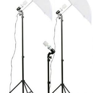 3 Point Lighting Kit Fluorescent Lighting Kit Umbrella Kit-263