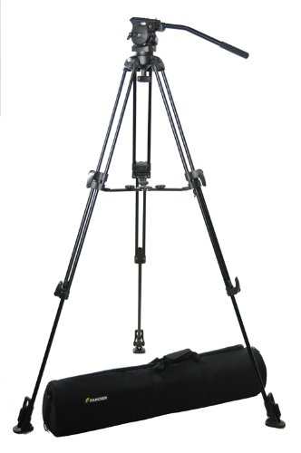 Fancierstudio Professional Video Camera Tripod FC-370 Pro Video Camera Tripod with Fluid Head By Fancierstudio FC-370-0