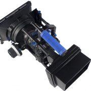 Professional DSLR RIG Shoulder Mount Follow Focus Whips, Crank, Matte Box Support System Kit Rig DSLR RLO3-1099