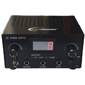 Tattoo Power Supply LCD Tattoo Dual Digital Power Supply Liner And Shader-1065