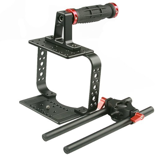 Top Handle Camera Cage For Black Magic Video Movie Camera Follow Focus BMC-R -1683