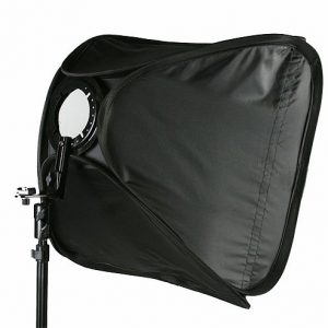"24"" Portable Flash Softbox Speedlight softbox with L-bracket SB1009 24""-138"